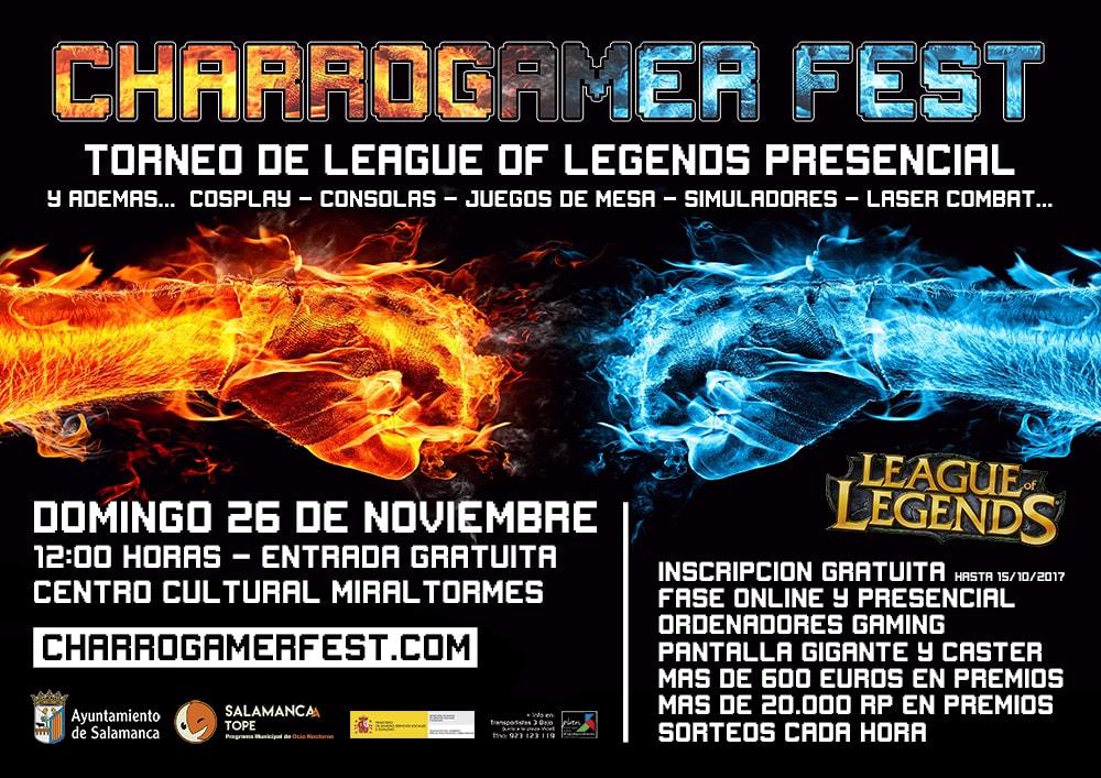 Cartel de Charrogamer Fest